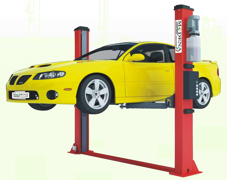 Automotive Lift Safety : Autobench post lift tonne automatic safety