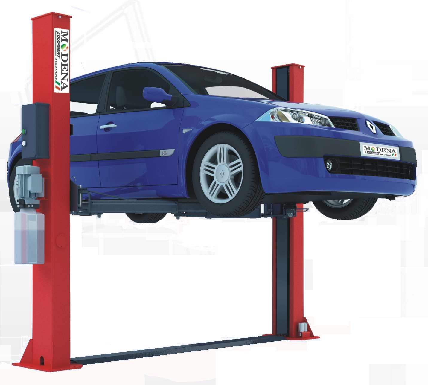 Auto Lift Safety : Autobench post lift tonne manual safety